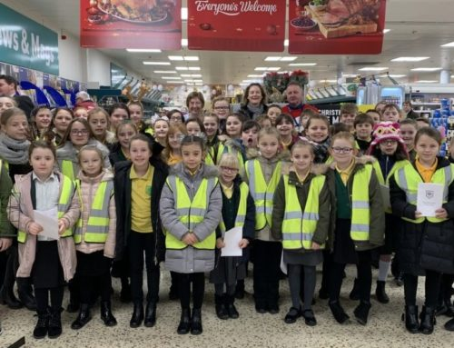 Burlington Choir visit Tesco