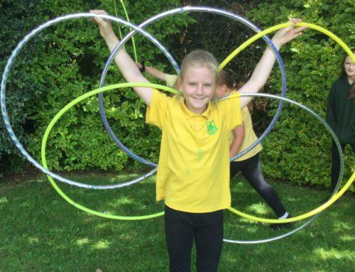 Hula Hooping Skills Day
